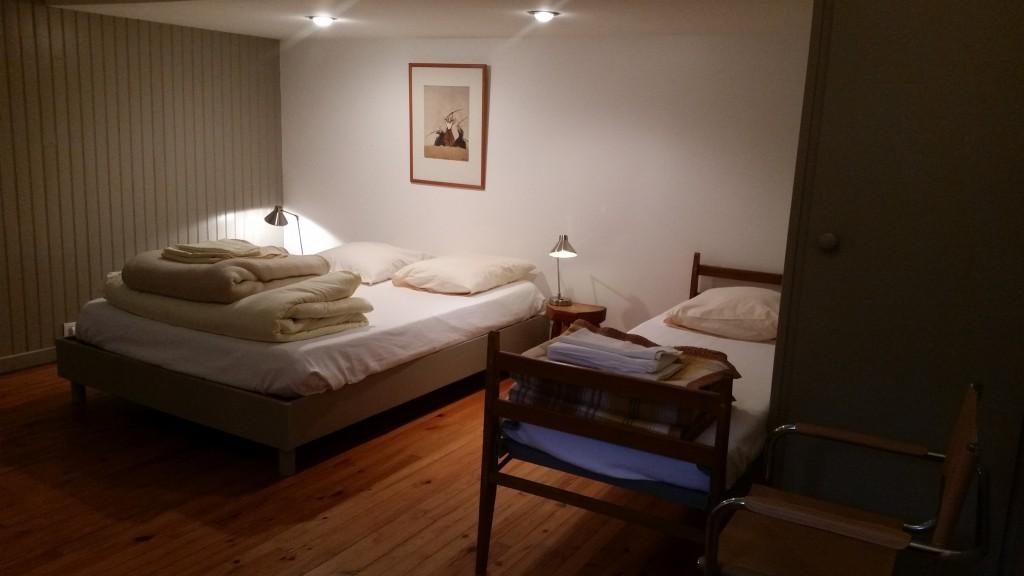 Place 2 dans chambre couple ou twin n 25 stages et for Chambre complete couple
